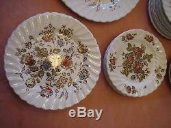Johnson Brothers Staffordshire Bouquet China Dishes Set 72 Pieces