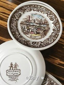 Johnson Brothers Stoke On Trent England English Country Life 46 pcs Dinner Set