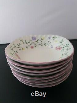 Johnson Brothers Summer Chintz 8 Salad soup Bowls 8 Bread Salad Plates 8 Dinner