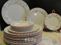 Johnson Brothers Summer Chintz 9 Dinner, 3 Salad, 6 Bread Plates