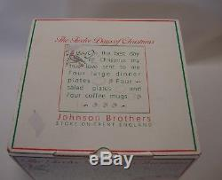 Johnson Brothers TWELVE DAYS OF CHRISTMAS 12 piece SET MINT IN BOX