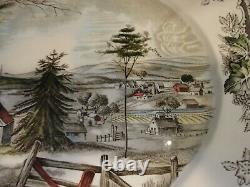 Johnson Brothers The Friendly Village 20 3/8 Oval Platter
