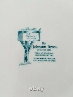 Johnson Brothers The Friendly Village 24 PC Dinnerware Set England