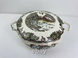 Johnson Brothers The Friendly Village Large Soup Tureen Sugar Maples