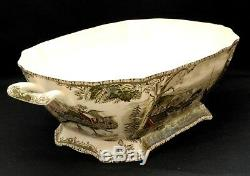 Johnson Brothers The Friendly Village Platter, Tureen And Ladle