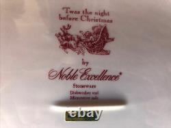 Johnson Brothers Twas The Night Before Christmas Oval Serving Platter 16 Nwb