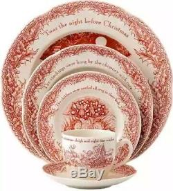 Johnson Brothers Twas the Night Before Christmas 20 pc Dinnerware Set For 4 NEW