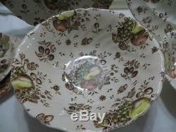 Johnson Brothers Vintage Autumn's Delight 42 PC Dinnerware Set for 8 New