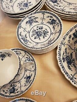 Johnson brothers china Indies blue&white England
