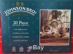 Johnson brothers friendly village set of 20 ITEM 0076