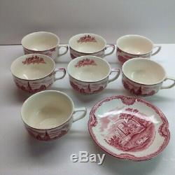 Johnson brothers old britain castles pink collection