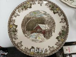 Lot 68 Pieces of Johnson Brothers Friendly village Dinner ware China