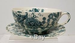 Massive Coffee Tea Cup English Chippendale Johnson Brothers England Bowl