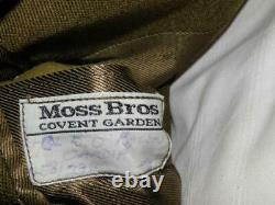 Moss Bros Dress Tunic For Colonel Of The Royal Engineers + Herbert Johnson Cap