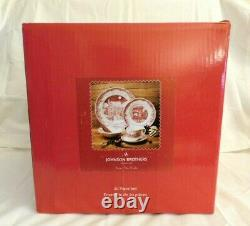 NIB Johnson Brothers'Twas the Night Before Christmas 20 Pc. Service for 4 w2s22