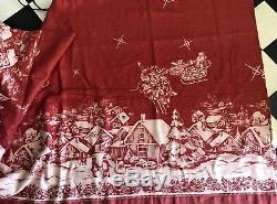 Noble Excellence Twas Night Before Christmas Tablecloth Johnson Brothers 70x126