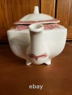 Noble Excellence Twas The Night Before Christmas Tea Pot Teapot Johnson Brothers