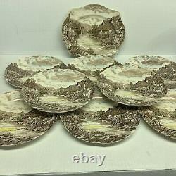 Olde English Countryside Johnson Bros Ironstone Set of Dishes And Bowls 18 Piece
