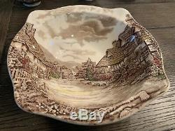 Olde english countryside by johnson brothers dinner ware for eight