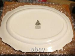 RARE JOHNSON BROTHERS MERRY CHRISTMAS 20x16 in SERVING PLATTER
