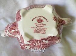 RARE! Johnson Bros English Chippendale Small Floral Teapot England
