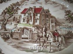 RARE Johnson Brothers HERITAGE HALL 20 Oval Serving Platter EXC CONDITION 4411