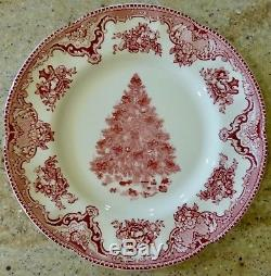 Set Of 9 Johnson Brothers Old Britain Castles Christmas Bowl Cups Plates