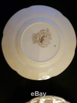 Set of 6 Johnson Brothers Wild Turkey Windsor Ware Salad/Dessert Plates 8