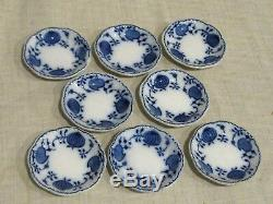 Set of 8 Johnson Brothers Holland Blue Onion Butter Pats