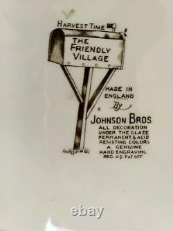 The friendly village johnson brothers set Lot of 73