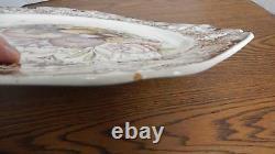 VTG 1960 Johnson Bros ENGLAND Windsor Ware Harvest 20 Oval Serving Platter