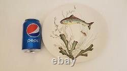 Vintage Johnson Bros Fish Plates Oval Cream No 5 Midcentury England