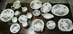 Vintage Johnson Bros Harvest Time Dishes Set 57 pieces, Made in England