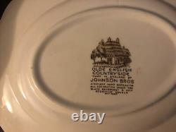 Vintage Johnson Brothers Country Side 118 Piece Set
