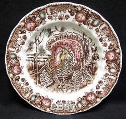 Vintage Johnson Brothers His Majesty Thanksgiving 42 Piece Dinnerware Set
