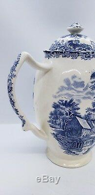 Vintage Johnson Brothers Millstream Coffee Pot