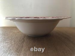 Vintage Johnson Brothers STRAWBERRY FAIR Round Covered Vegetable Bowl w Lid