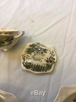 Vintage Johnson Brothers The Road Home England set Of 42 Pieces