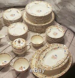 Vintage Pareek Johnson Bros Dinnerware Set 60+ Pieces