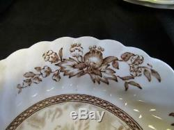 Vintage Set of Johnson Bros Tulip Time China 12 Saucers & 7 Plates Replacement