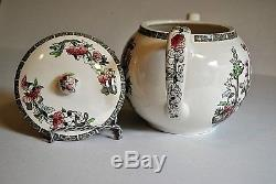Vintage Teapot in Indian Tree Pattern by Johnson Brothers