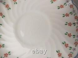 White Johnson Brothers Dreamland Dinner Set Service. 10 place settings. Plates